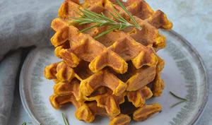 Gaufres carotte et potimarron