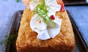 Mini cakes salés aux crevettes