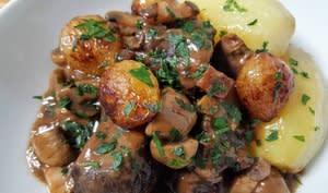 Boeuf Bourguignon gastronomique