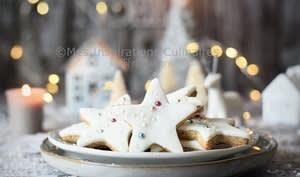 Biscuits alsaciens au glaçage