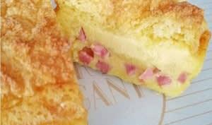 Cake magique jambon et Comté