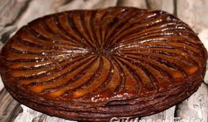 Galette chocolat poire