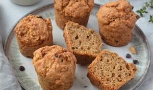 Muffins à la poire et à la cardamome