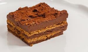 Millefeuilles spéculoos chocolat