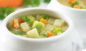 Fondue de poireaux pommes de terre et carottes