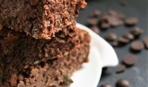 Brownie haricots blancs