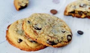 Cookies au whisky et 2 chocolats