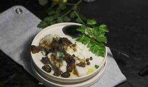Cabillaud sauce grenobloise