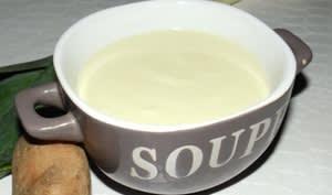Soupe Vichyssoise allégée