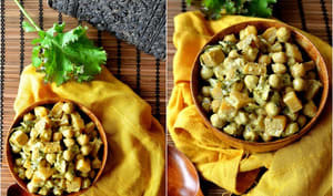 Curry de pois chiches au rutabaga