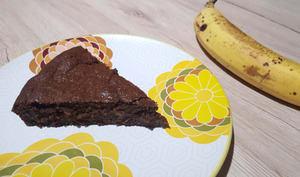 Brownie chocolat et banane