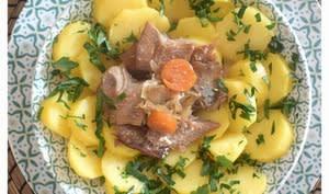 Salade de pommes de terre et harengs fumés -