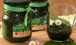 Ail des ours à l'huile d'olive