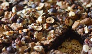 Brownie noix chocolat dulcey