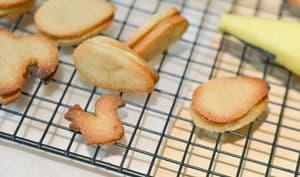 Biscuits végétaux à la crème de citron