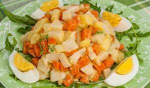 Macédoine de légumes de début de printemps