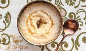 Porridge d'avoine fermentée