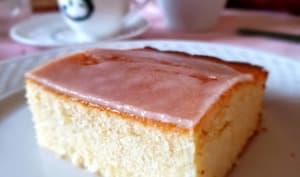 Gâteau simple au citron