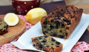 Cake au citron et myrtilles de Yotam Ottolenghi