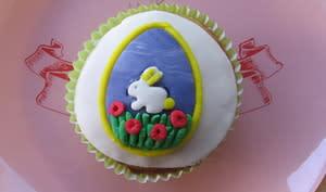 Cupcake aux zestes d'orange