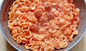 Orecchiette à la sauce tomate