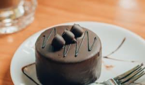 Fondant mi-cuit au chocolat noir