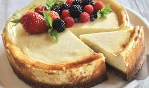 Cheesecake léger aux spéculoos et à la vanille