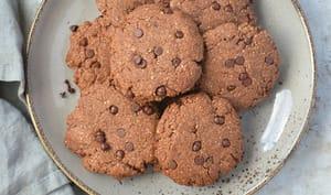 Cookies chocolat et noisette