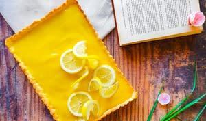 Tarte au citron meringuée ou non
