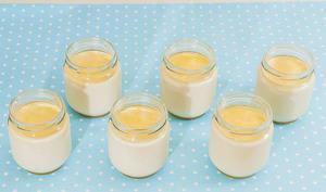 Yaourts à la confiture de lait