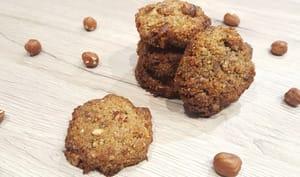 Cookies noisettes et pralinoise