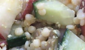 Salade de pâtes sucrée salée