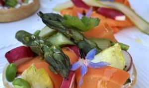 Tartelette aux légumes