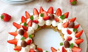 Tarte incroyable aux fraises