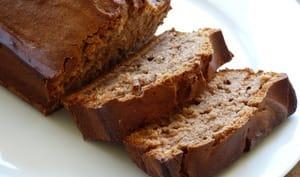 Banana bread aux noisettes et au chocolat