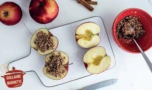 Crumble de pomme healthy