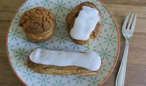 Choux et éclairs à la crème pâtissière vanille