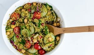 Taboulé au quinoa et aux légumes d'été