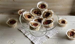 muffins aux anchois et tomates cerises