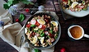 Salade de pâtes niçoise