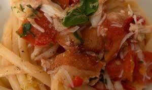 Linguini al Granchio