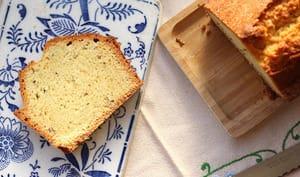 Cake sucré aux graines de carvi