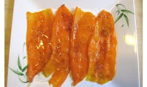 Carpaccio de poivrons Kapia