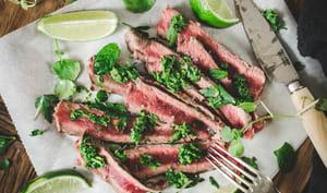 Salade de bœuf grillé et gremolata