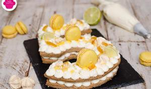 Number cake noisette au citron