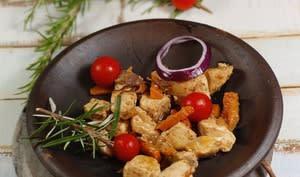 Escabèche de poulet au romarin
