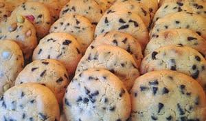 Cookies croustillant et moelleux