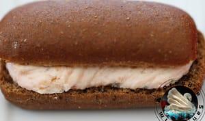 Pain cacao crème de saumon