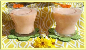 Milkshake à la papaye