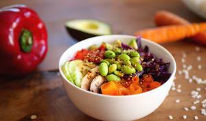 Poke bowl végétalien